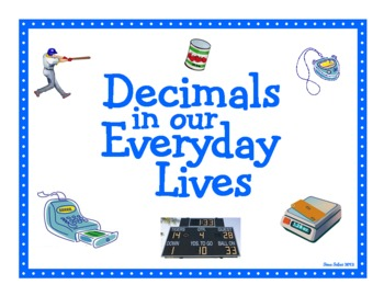 how to work out a decimal of something