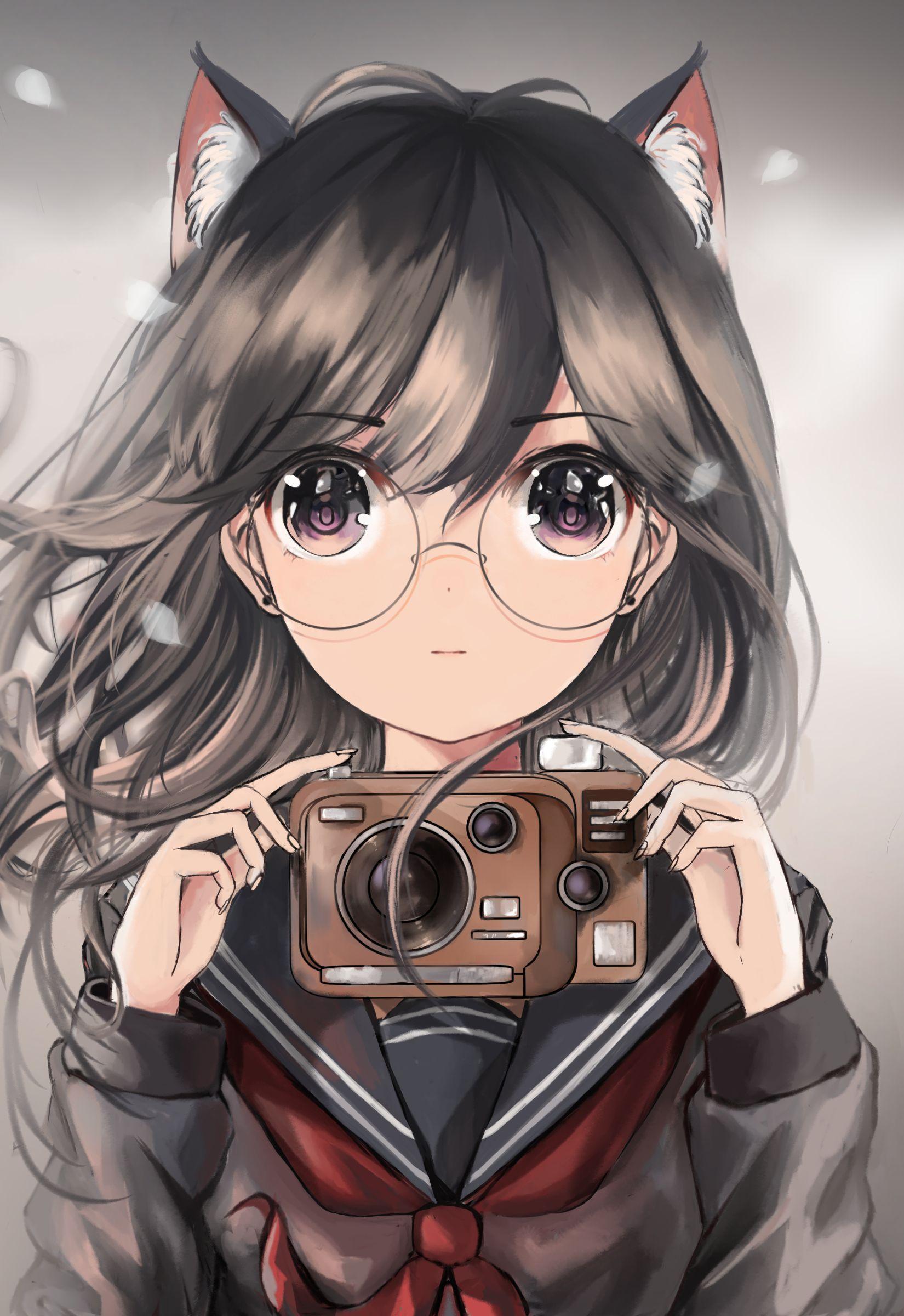 Картинки красивых девочек аниме на аву
