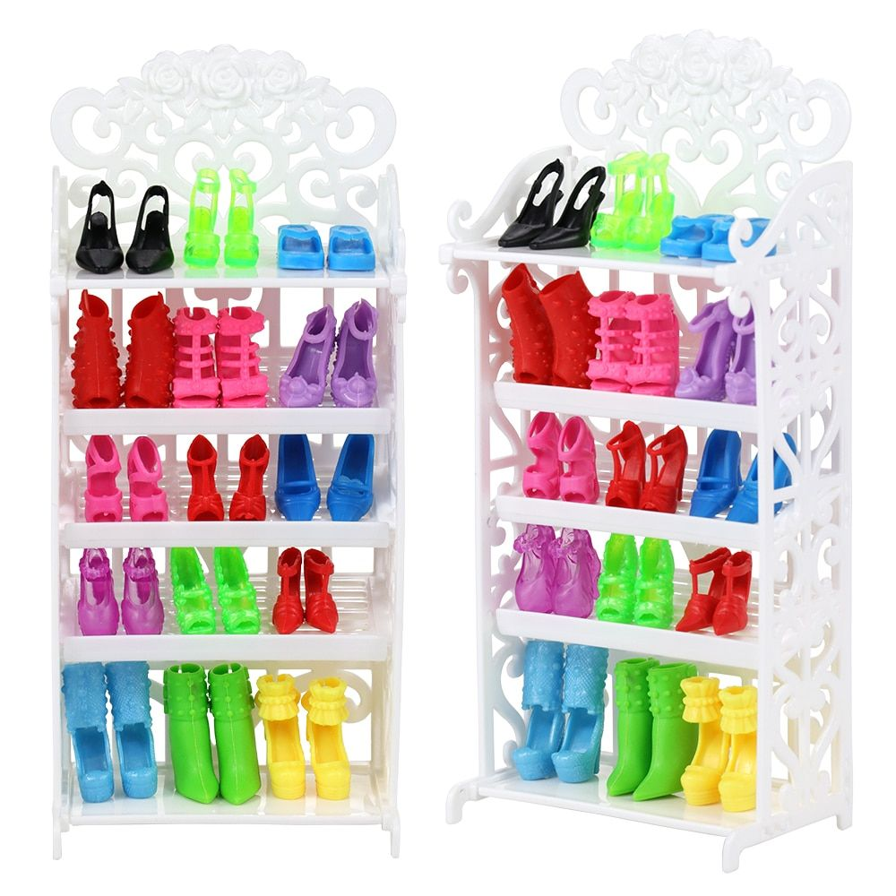 Info's : Interactive Dog Toys Accessories Birthday Party Princess Gift Present Shoes Rack For Girls Mini Doll House Furniture Bike Kids