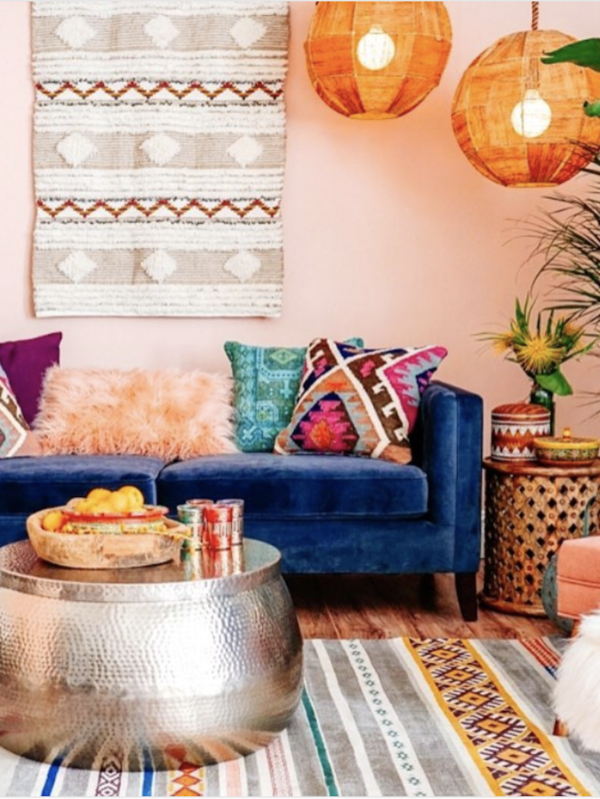 14 Paint Colors That Can Make A Room Feel Instantly Cozy Colourful Living Room Living Room Diy Bohemian Style Living Room