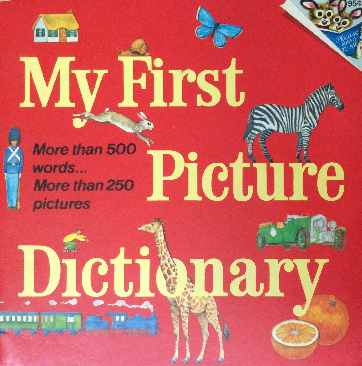 My First Picture Dictionary by Lonestarblondie on Etsy ...