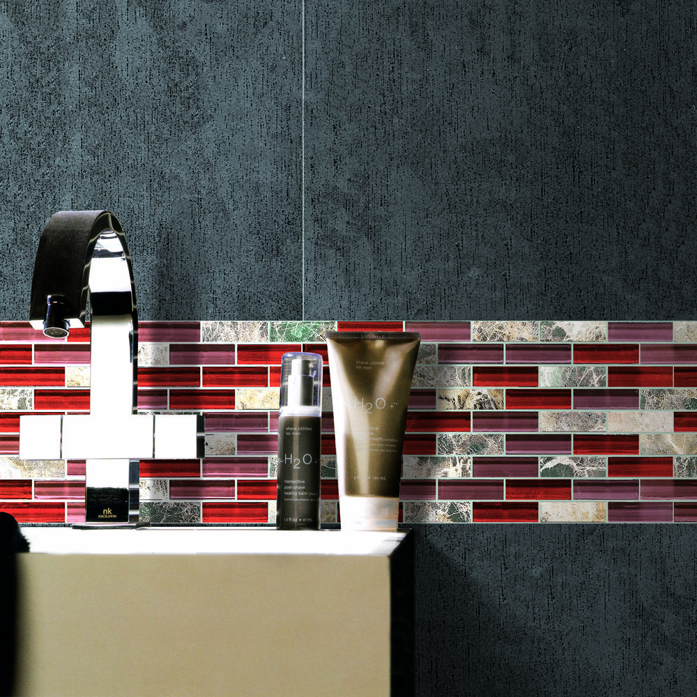 The Bordeaux also comes in a subway pattern. The selection of ...