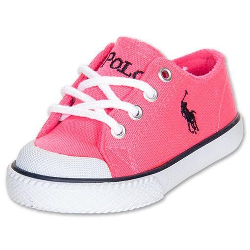 8f677bdeb682 Girls  Toddler Polo Ralph Lauren Chandler Casual Shoes