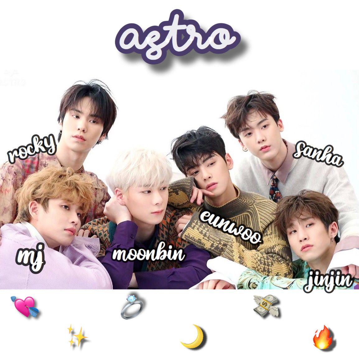 Astro Members Astro Astro Kpop Names