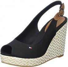 c5746cee75a Tommy Hilfiger černé boty na klínku Elena 57D - 2150 Kč