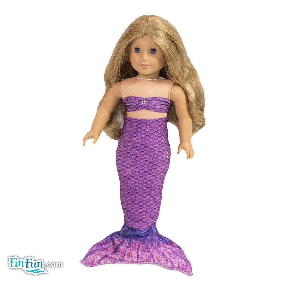 Asian Magenta Doll Tail and Top - American Girl $12.95