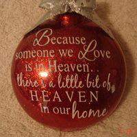 Heaven Ornament From Vinyl