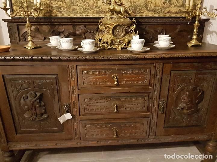 aparador tallado antigedades muebles antiguos aparadores antiguos