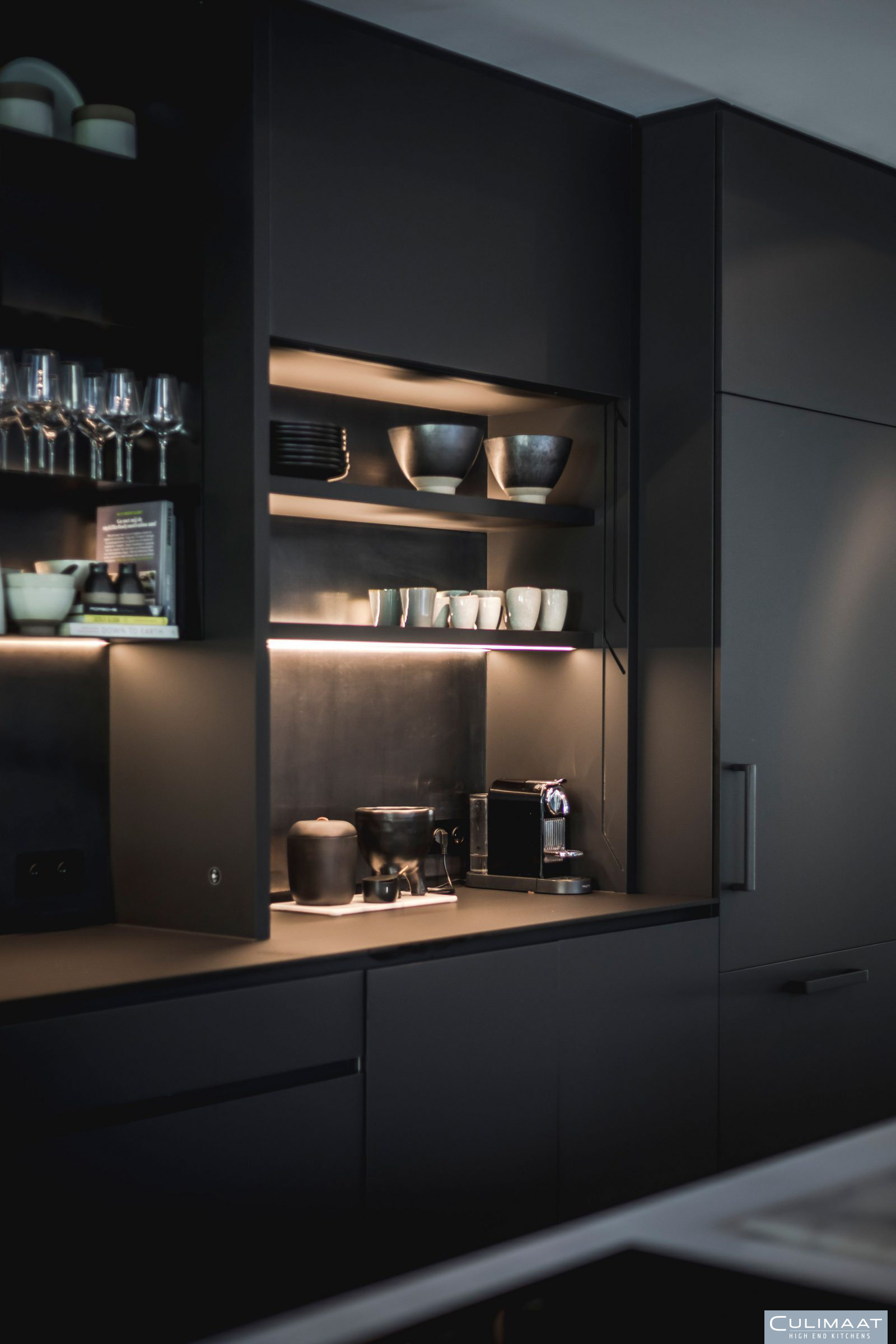 Minimalistische villa Bosch en duin - Culimaat - High End Kitchens