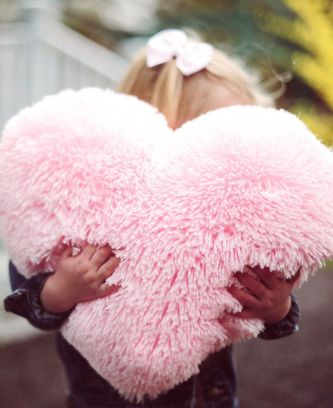 Fluffy Pink Heart Shaped Decorative Pillow Valentine S Day Etsy In 2020 Pink Heart Heart Shapes Heart Pillow
