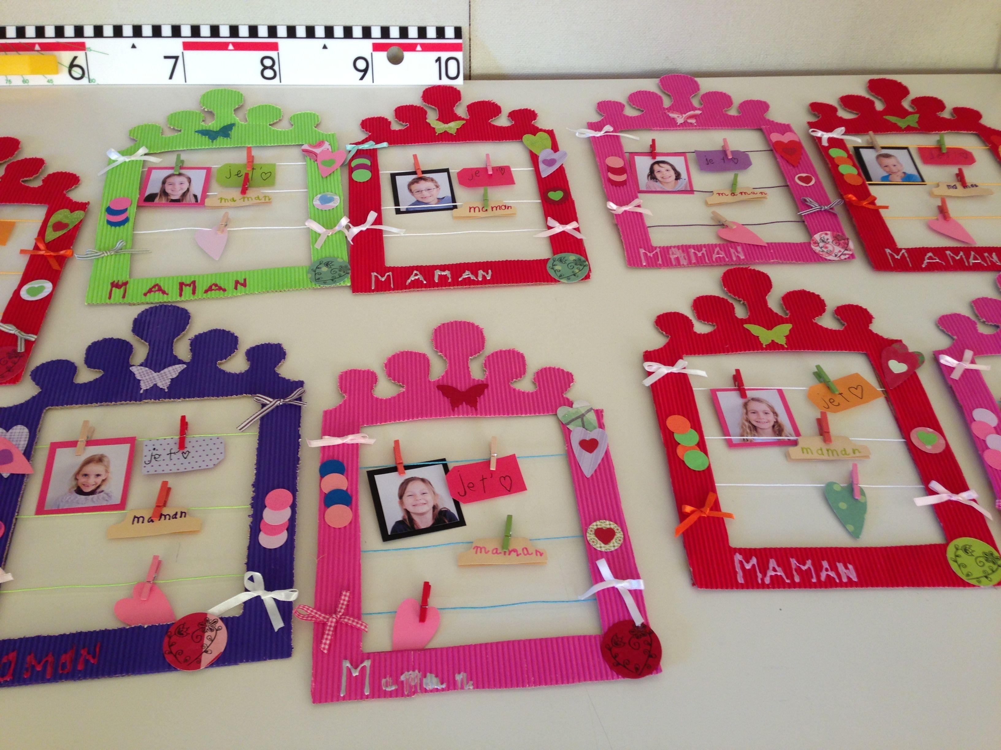 Cadres fête des mères | Thema: Moederdag en Vaderdag | Pinterest ...
