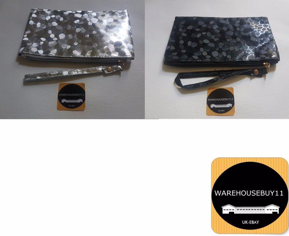 Fashion Women Lady Clutch Dazzling Sequins Handbag Glitter Evening Bag  Purse UK in Clothes 62df7c614b4a