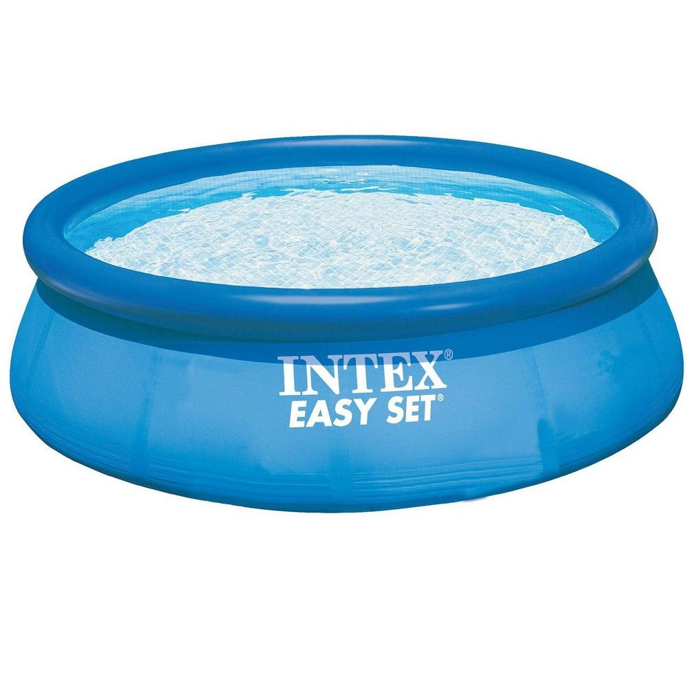 Intex Easy Set Pool, Pump & Filter And Intex Above Ground