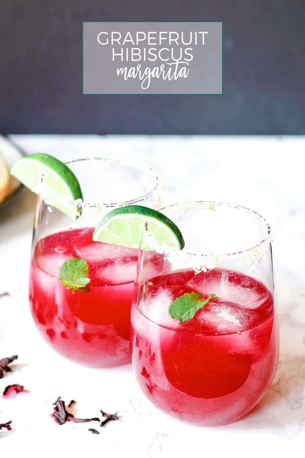 This Grapefruit Hibiscus Margarita Is The Perfect Cocktail Recipe To Make You Think Of Summer Fresh Grapef Cocktail Recipes Easy Best Cocktail Recipes Recipes
