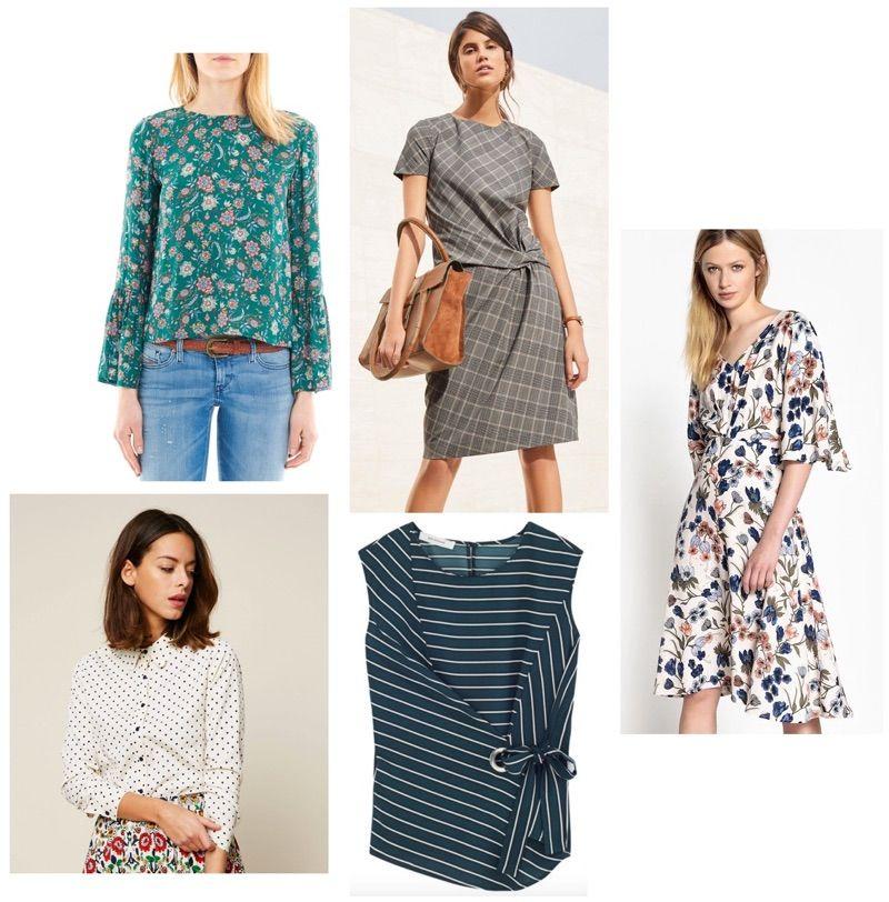 ff4debac0aa63 Mode femme printemps 2018   5 vêtements imprimés tendances à shopper      ss18