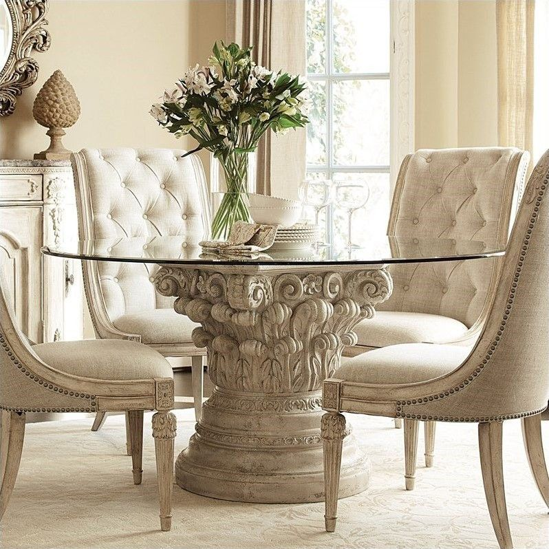 Lowest Price Online On All American Drew Jessica McClintock The Boutique Round Dining Room