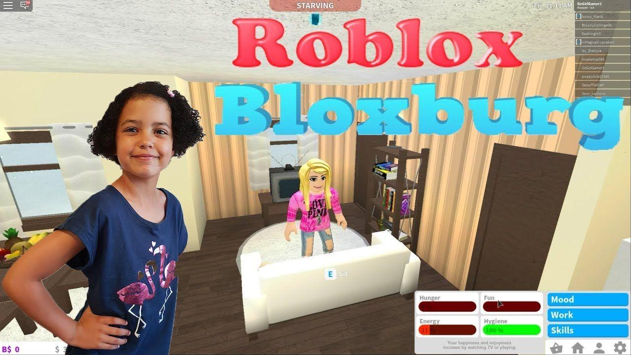 Roblox Bloxburg Playthrough With Ozgirlgamer Roblox Roblox