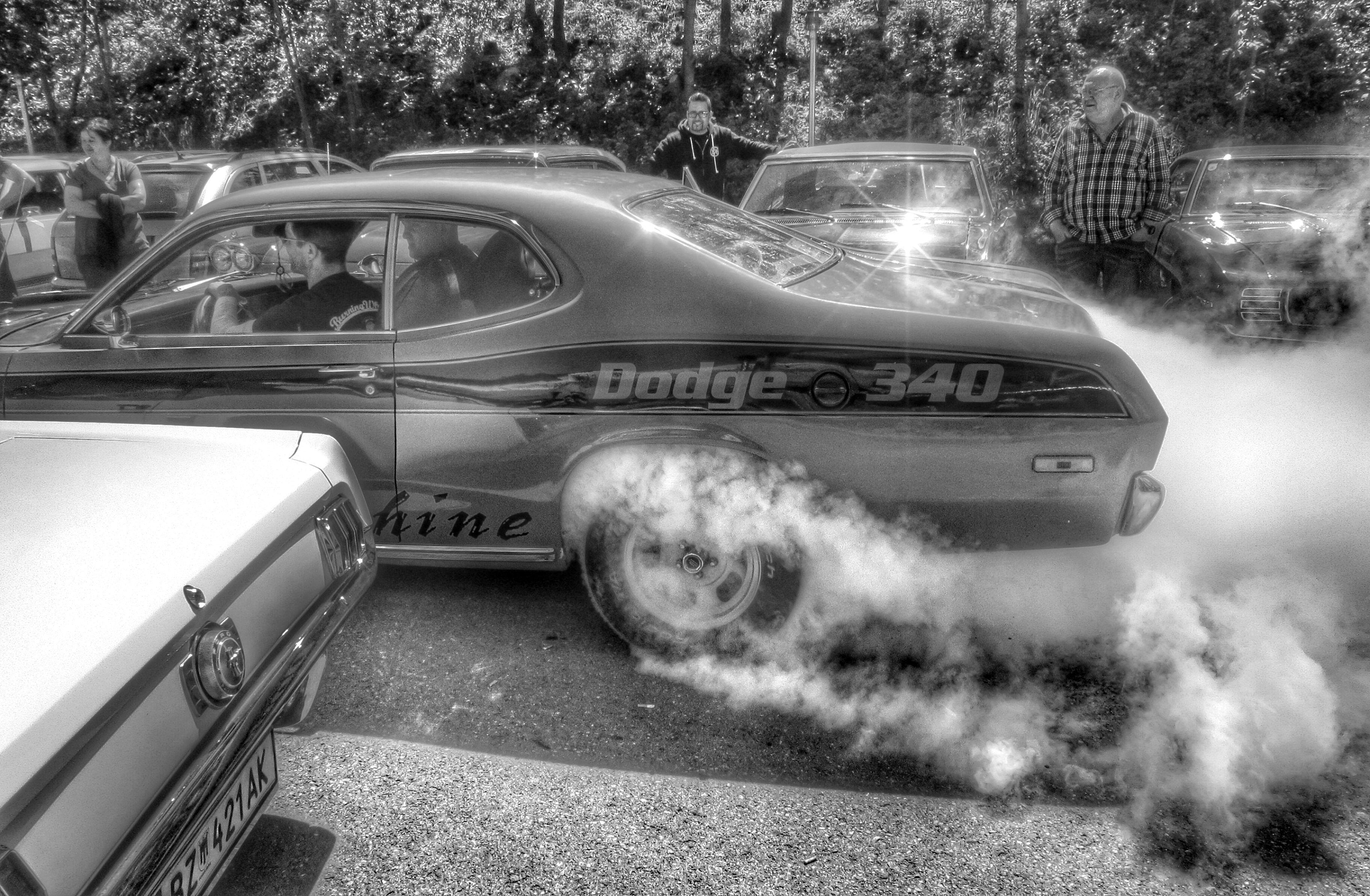 Brunch & #Burnouts 2014 at Miami Roadhouse Koblach Austria ...