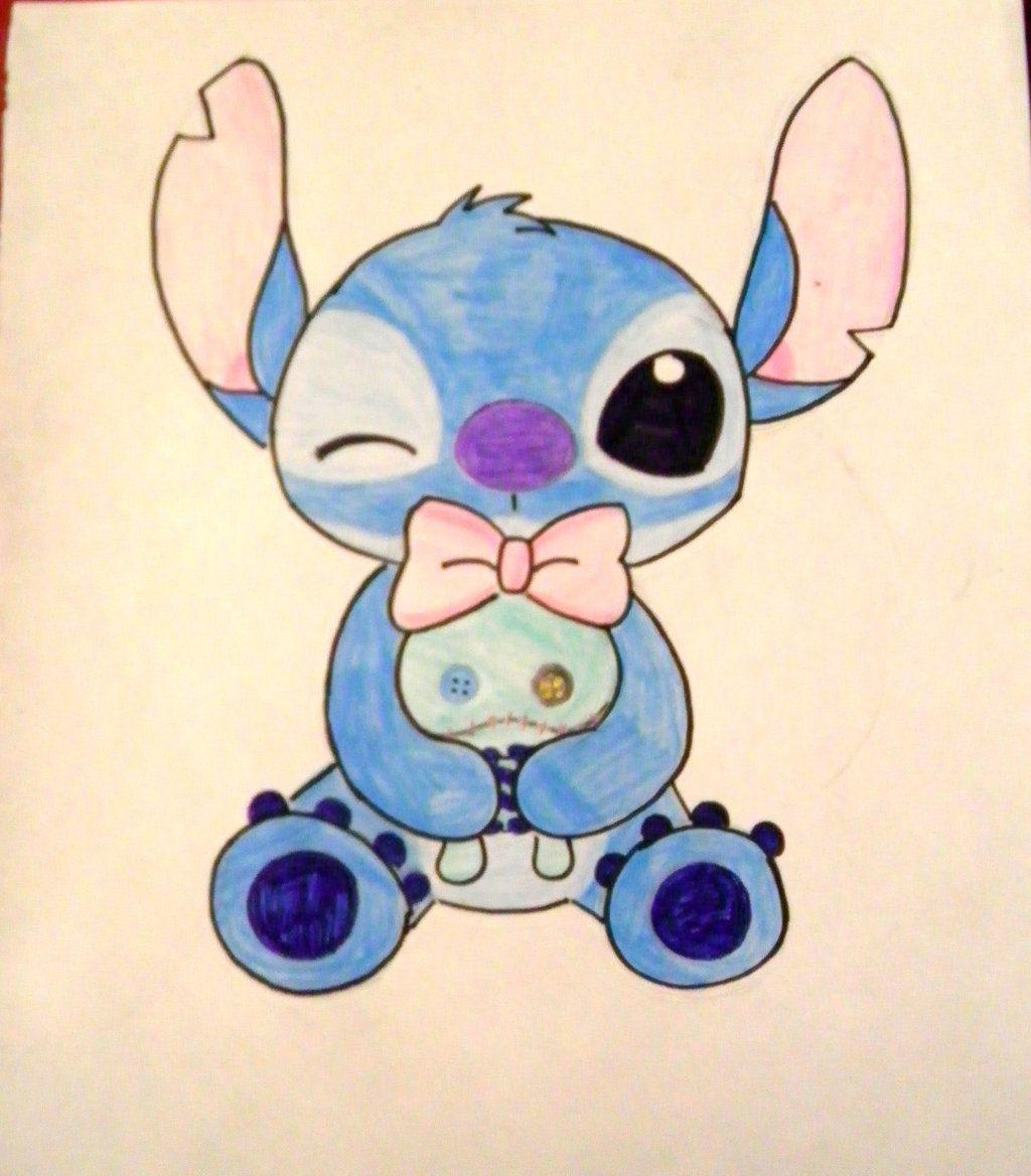 Stitch on StitchxAngel-fans - deviantART | stitch | Pinterest ...