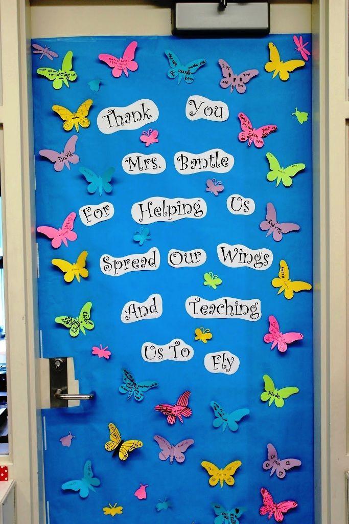 Library Door Decorations & ... Christmas Classroom Door ...