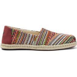 Toms Schuhe Tomaten Rote Gewebte Espadrilles Für Damen - Größe 38.5 TomsToms #redshoes