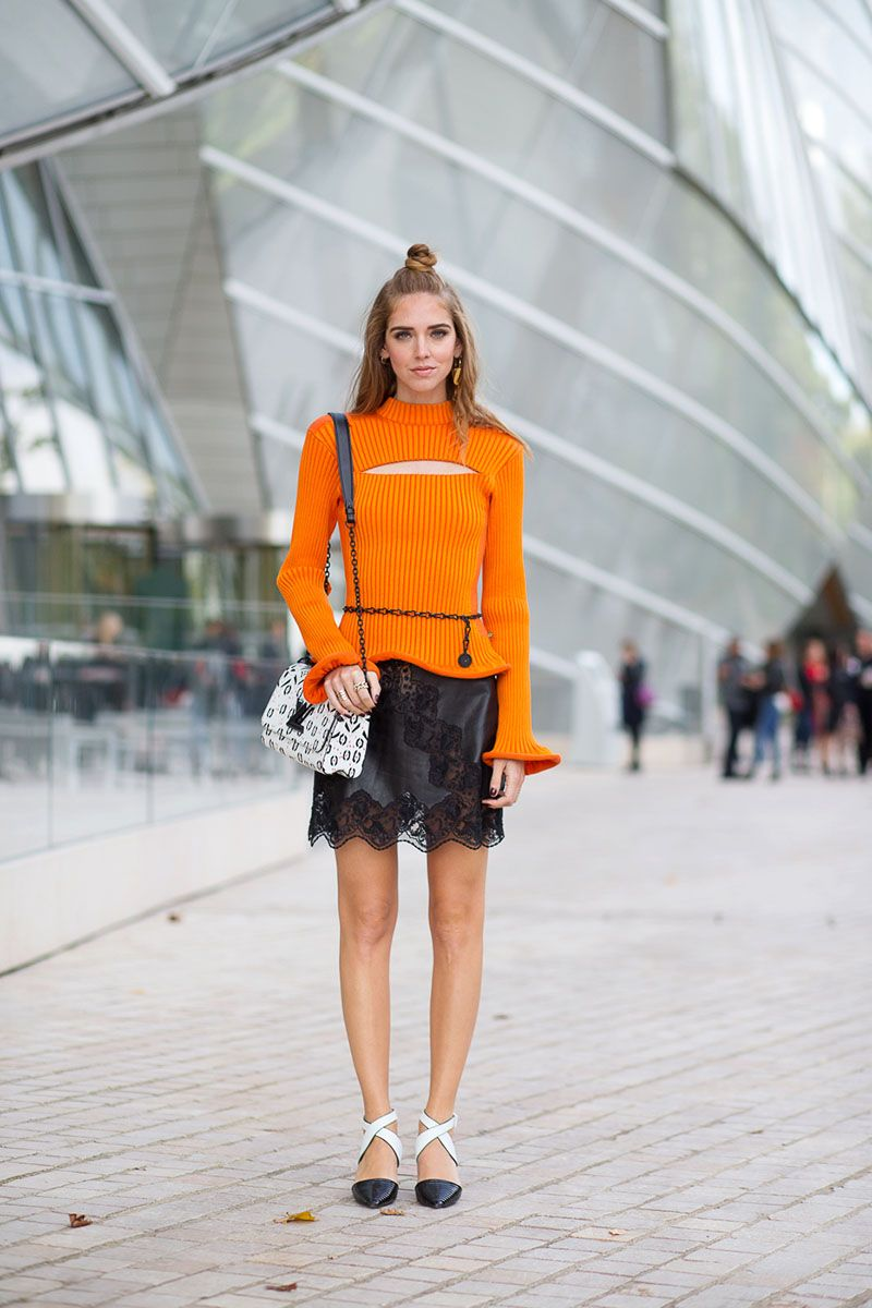The Paris Way Fashion Week Street Style Chiara Ferragni Street Styles And Louis Vuitton