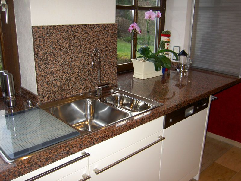 Padang Rosso Balmoral TG01 Granit Arbeitsplatten    wwwgranit - küchenarbeitsplatten online bestellen