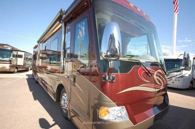 Year 2007 Brand Country Coach Model Intrigue Floorplan Ovation Ii 4 Slides 525hp Rv Type Diesel Pusher Len Rv Types Hydronic Heating Cat Engines