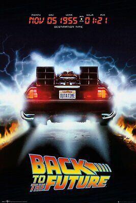 Volver Al Futuro-Delorean Movie Poster - 24x36 - 54129