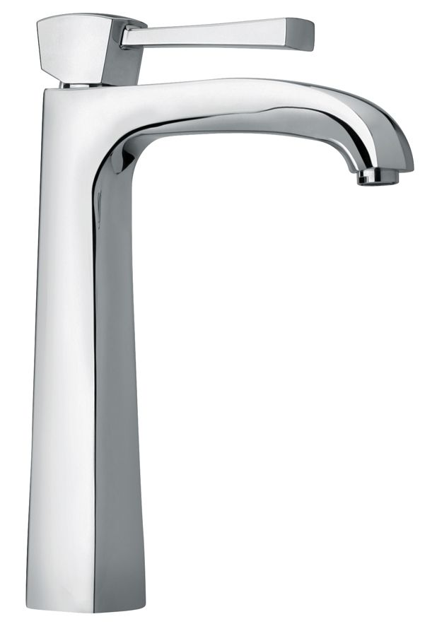 Single Lever Handle Tall Vessel Sink Faucet With Arched Spout 11205 By Jewel Faucet Vessel Sink Faucet
