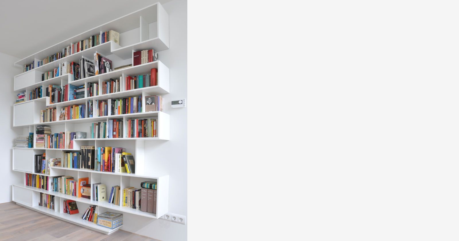 Origineel design boekenkast design boekenkast for Boekenkast design