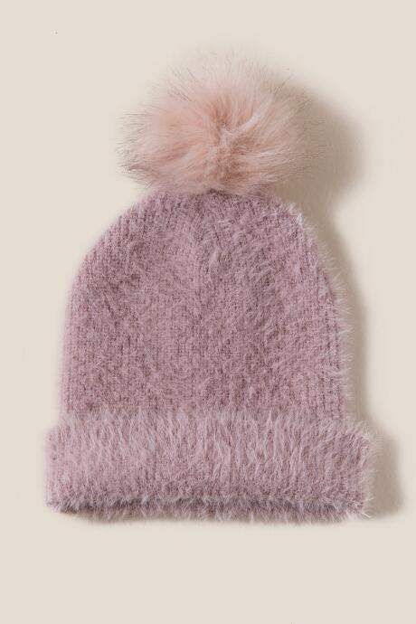 9659cdef4b8 francesca s Betty Eyelash Beanie - Blush