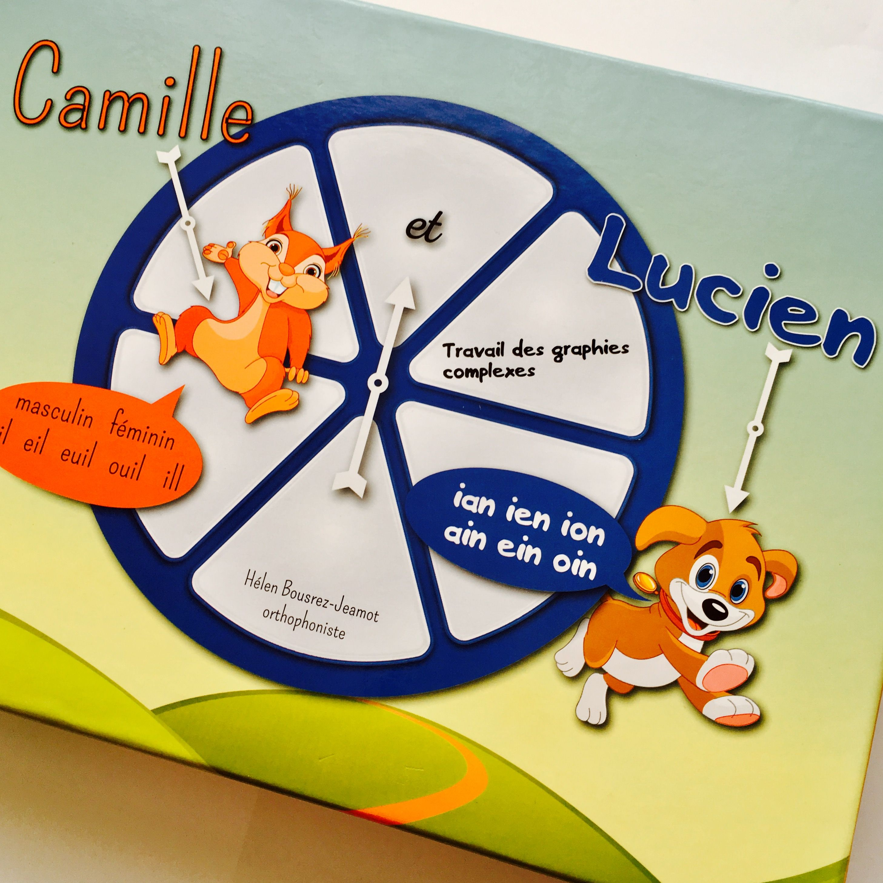 Camille Et Lucien Boite A Jeux Orthographe Lexicale Orthophonie