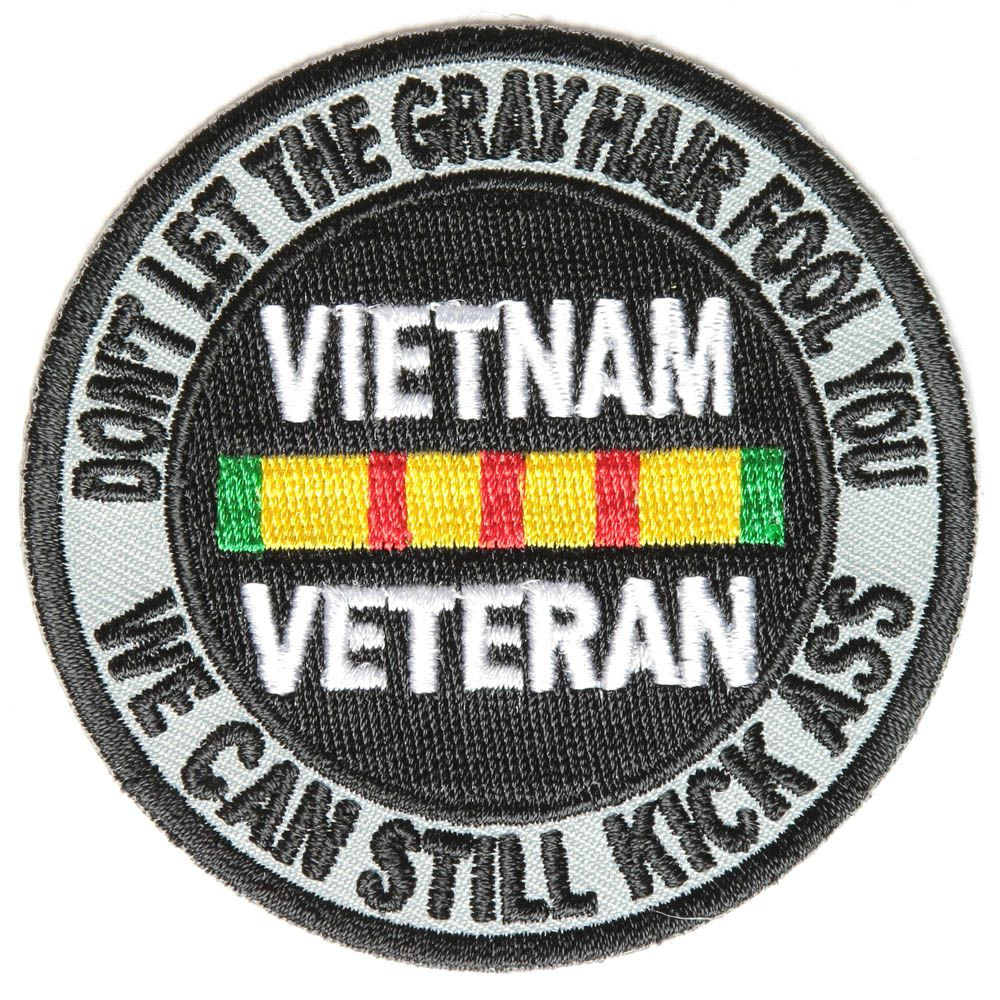 AIR FORCE VIETNAM VETERAN PATCH EMBROIDERY SEW//IRON ON NEW U.S