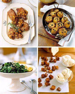 Tastefully Entertaining | Event Ideas & Inspiration: Fall Dinner Party Menus