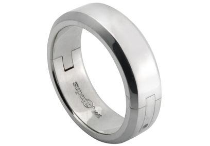 A ring my love can wear Cliq Jewelry Superfit CliQ Mens Bevel
