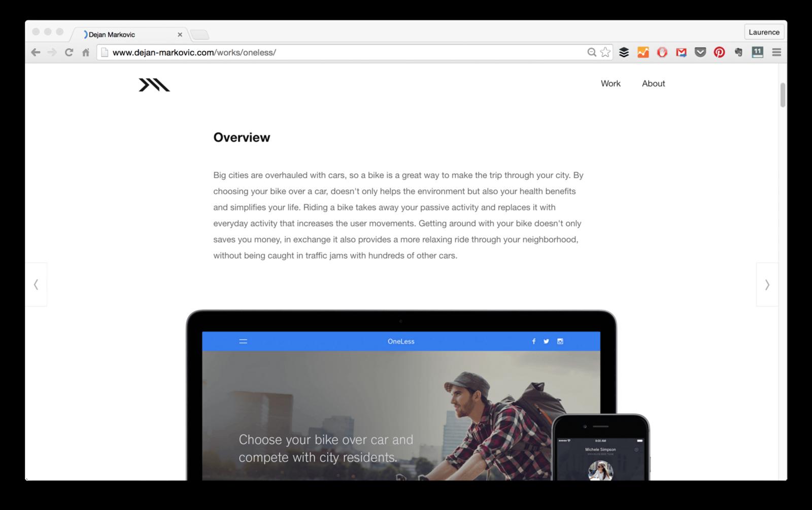 Create Online Web Design Portfolio
