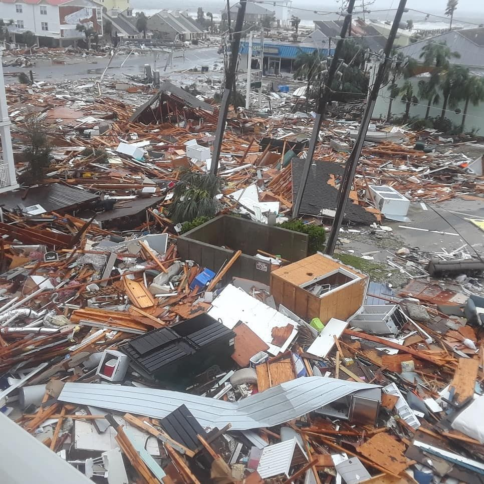 U S A F Tyndall Air Force Base Took A Direct Hit From Hurricane Michael Tyndall Hurricane Air Force Bases