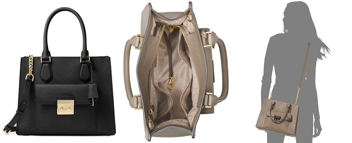 4b0515fbf8a7 MICHAEL Michael Kors Bridgette Medium East West Tote - Michael Kors  Handbags…