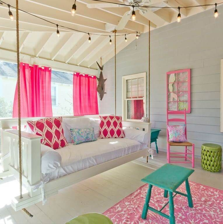 The Salty Mermaid Beach Cottage Tour - 2019 #beachcottageideas Beach House Tours at #SugarsBeach Beach cottages decor ideas and awesome beach house decorating ideas at SugarsBeach.com #BeachDecor #beachcottageideas
