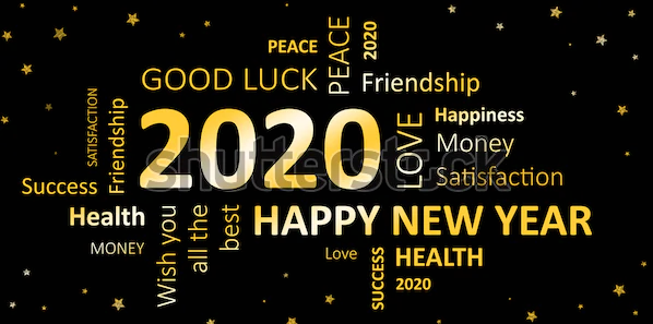 Happy New Year Wishes Card 2020 New Year Wishes 2020 Happy New Year Images Happy New Year Message New Year Wishes Cards