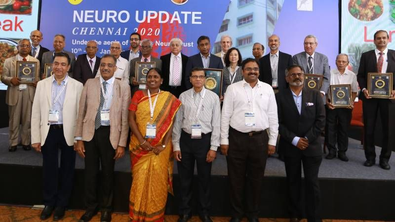 Neuro Update Chennai 2020 Awards
