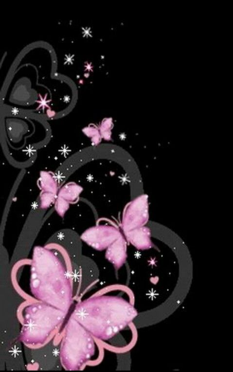 Pink Butterflies For Butterfly Love That Lasts Have A Look At This Board Krylya Babochki Cvetochnye Kartiny Serdce Oboi