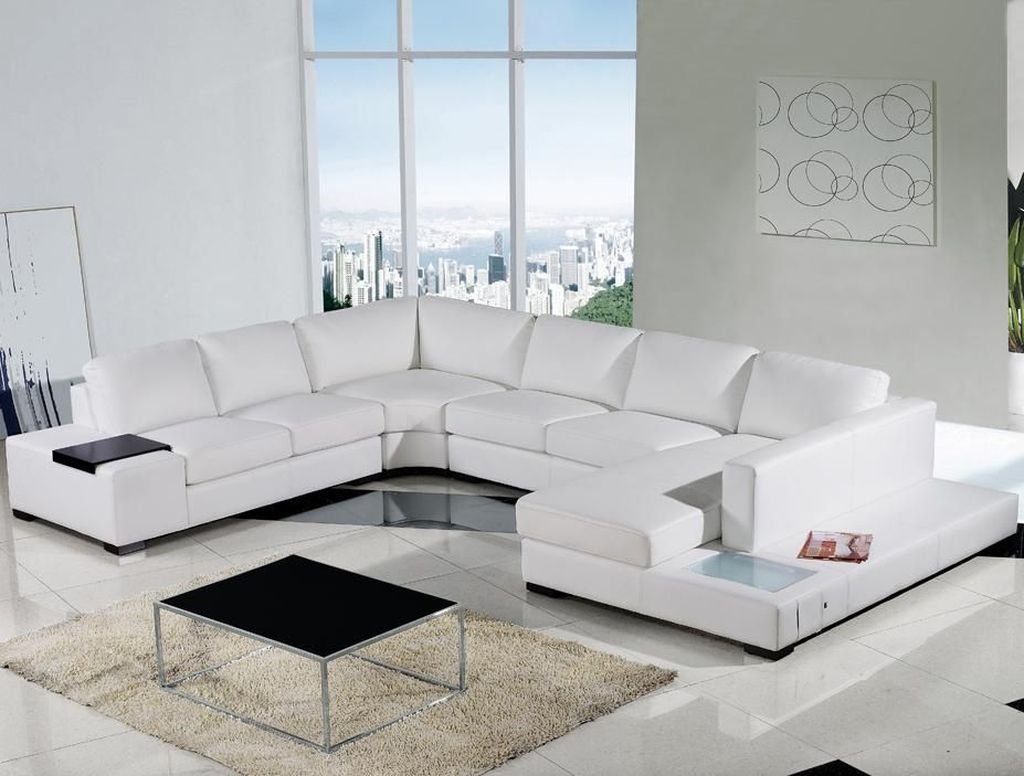Pin By Mmk On Palanisubramn33 White Leather Sofas Modern Sofa Sectional Sectional Sofa