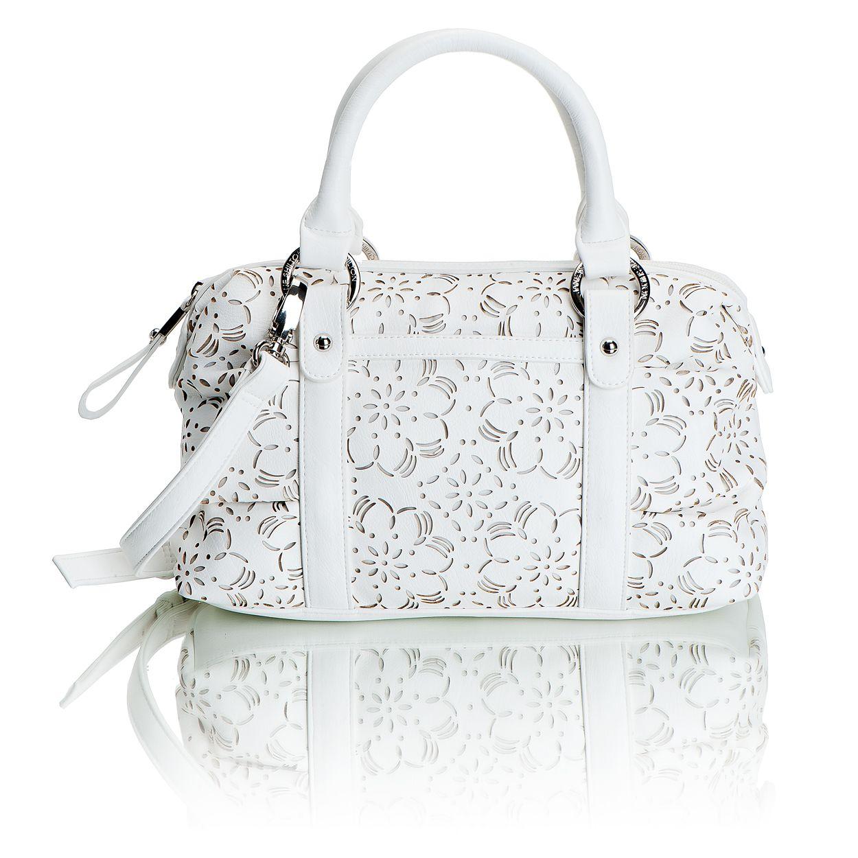 White Lace Bag