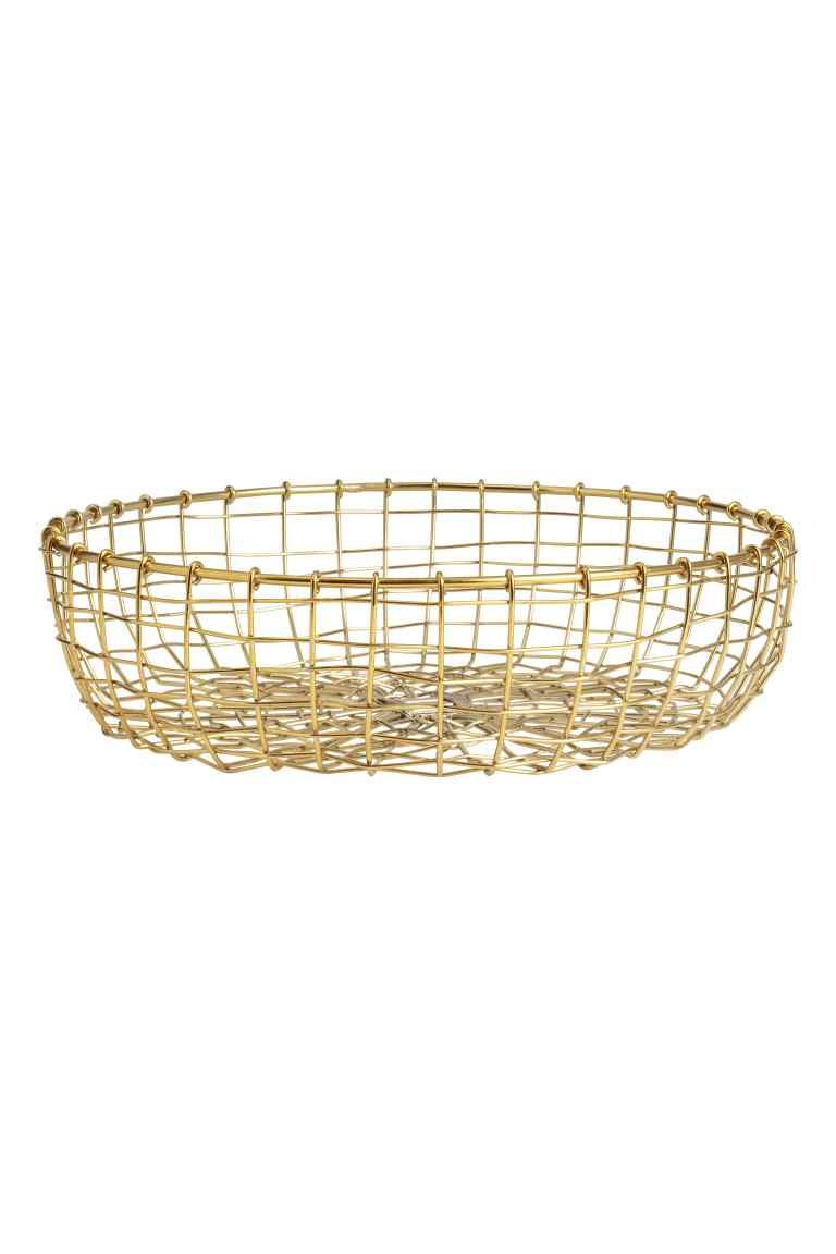 Metal Wire Bread Basket | Wire basket and Wedding anniversary