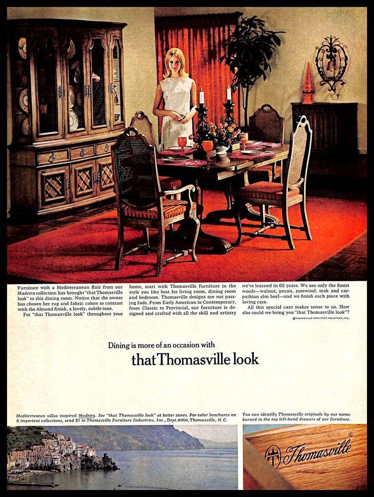1966 Thomasville Furniture Vintage, Thomasville Furniture Industries