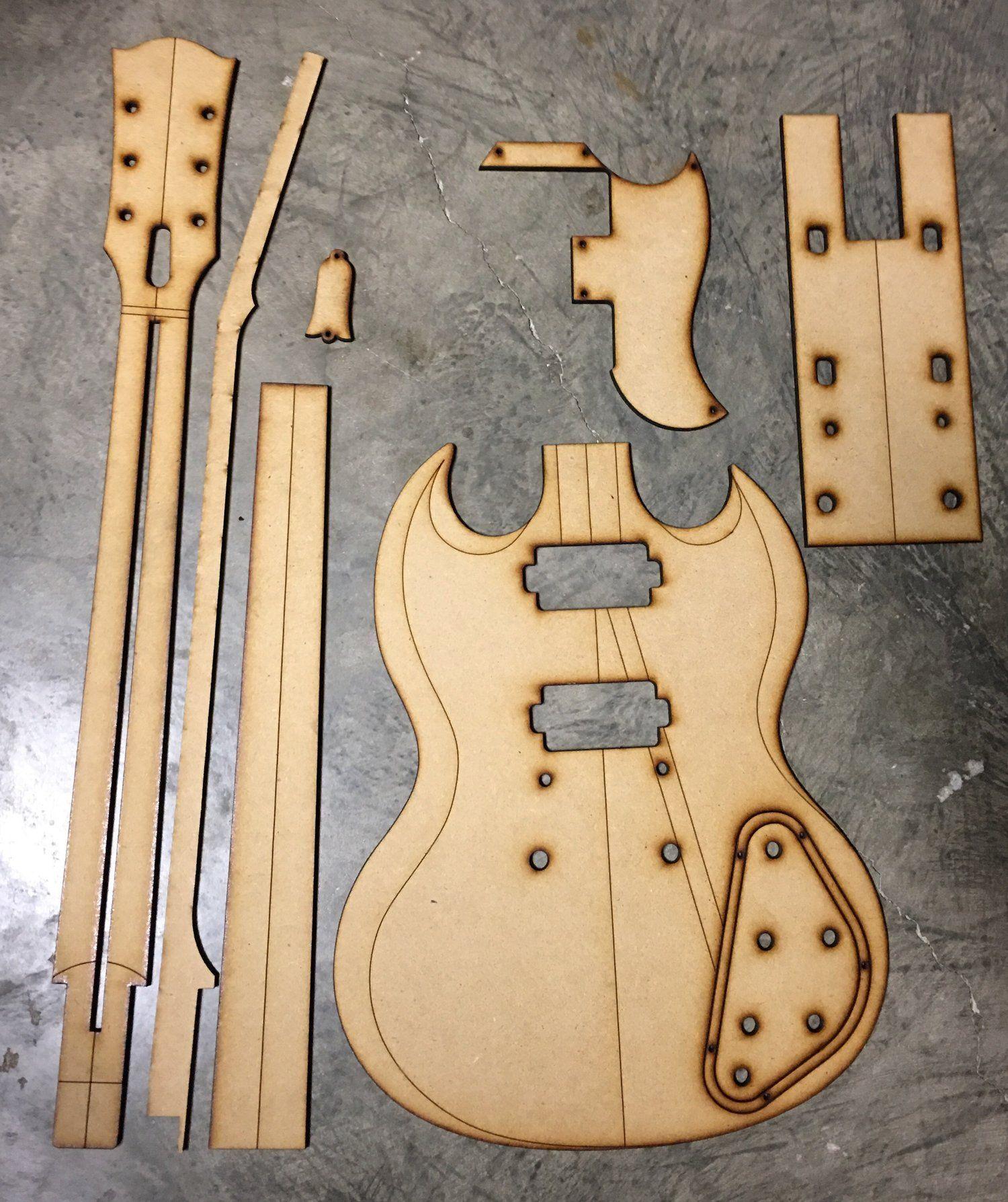 Sg Standard Vintage Guitar Building Templates Guitar Building Guitar Guitar Design