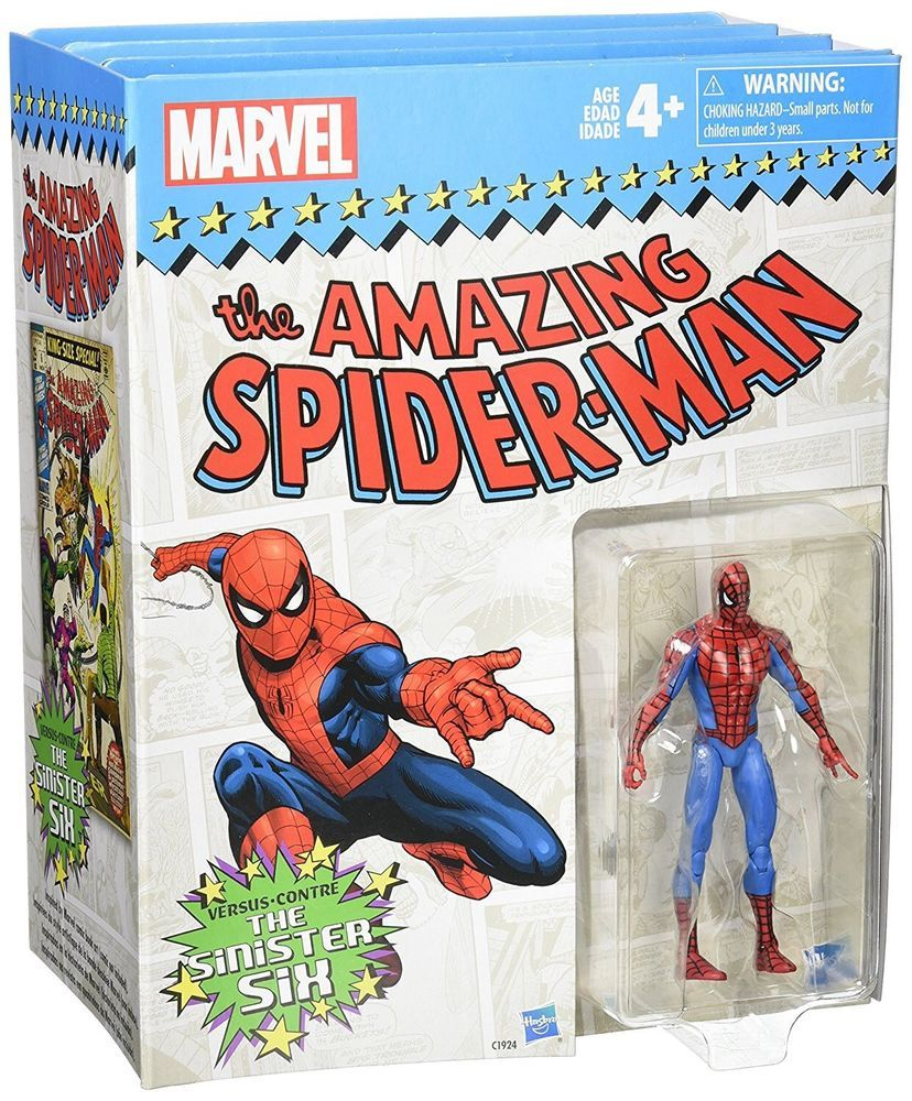 "Marvel Universe Legends Amazing Spider-Man Comic Series 3.75/"" Action Figure"
