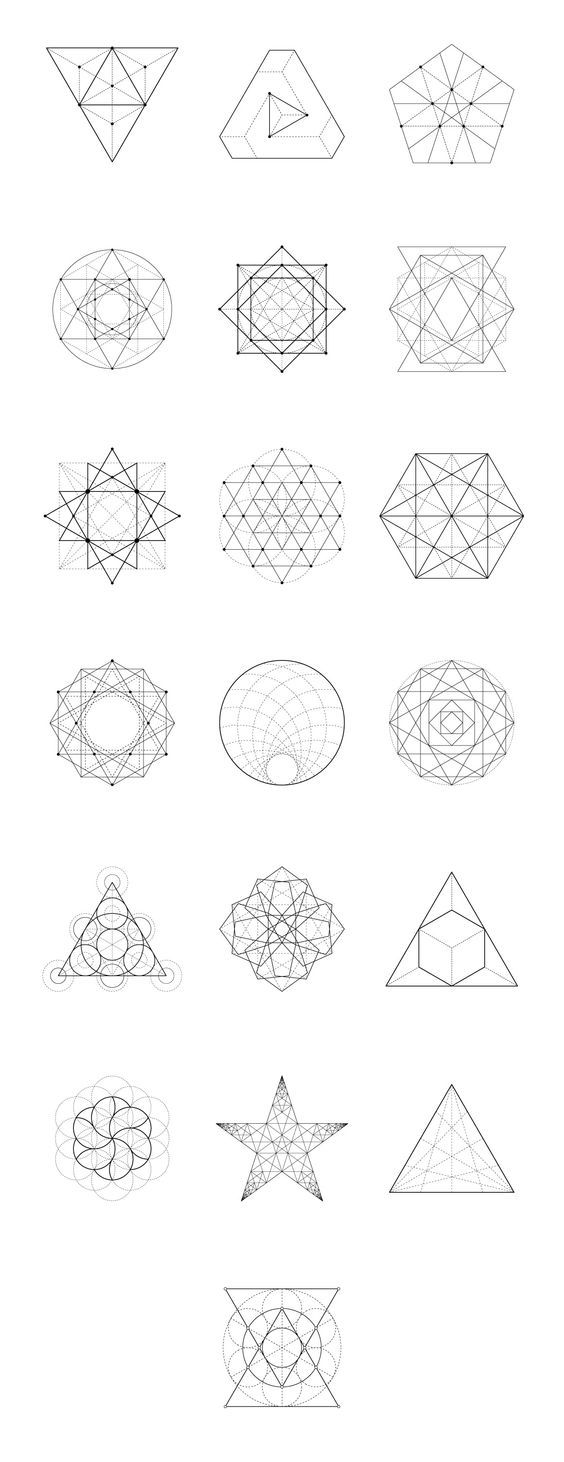 Sacred Geometry 60 Items By Kloroform On Creative Market CHECK MORE HERE